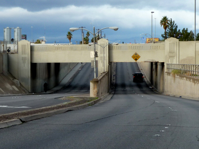 Clark Avenue Railroad Underpass