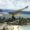 Corsairfly Airbus A330-200 On Final Approach At St Maarten Airport