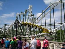 Inverted Roller Coaster, Limit, At Heide Park