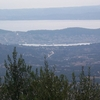 Argostoli And Lixouri From The Mountains