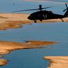 US Army Helicopter Over Lake Habbaniyah