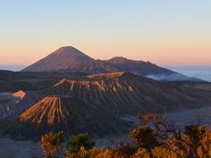 Bromo and it's magnificent landscape