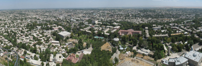 Downtown Osh, Seen From Sulayman Too