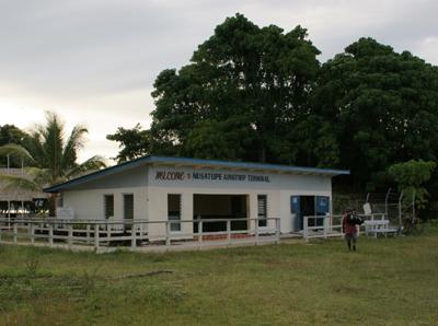Gizo's Nusatupe Airport Building