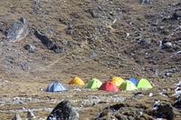 Himalaya Base Camp And Colour Tents