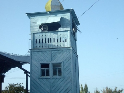 The Minaret  Of The Dungan Mosque