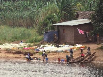 Shoreline At Gisenyi