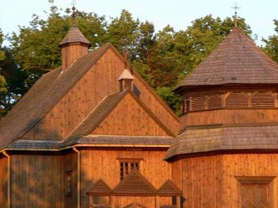 18th Century Wooden Church In Palūšė