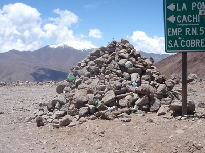 Abra Del Acay (5061 M) In Salta Province