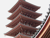 The Five-Storied Pagoda At Sensō-ji