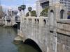 City Hall Behind Yodoyabashi Bridge