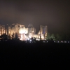 Al Rabad Castle At Night