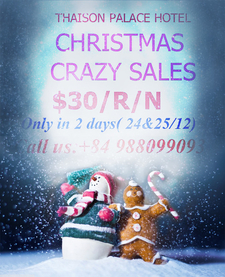 Christmas Promotion At Thaison Hotel