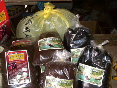 Some Varieties Of Sagada Coffee