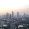 Thamrin Road Seen From The Imperium Tower