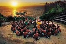 Kecak Danse Sunset