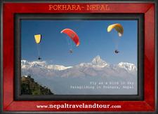 Nepal Paraglide In Pokhara