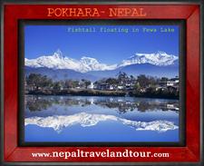 Nepal Pokhara Fishtail Floating