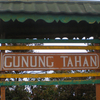 Wooden Signboard At The Peak