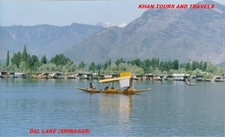 Beautiful Dal Lake Sri Nagar