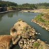 Progo River In Yogyakarta