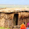 The Manyatta House Where The Masai People Stay