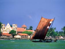 Negombo Coast Line, Sri Lanka