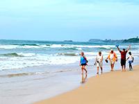 Bentota Beach Relaxing