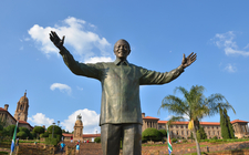 Nelson Mandela Statue At The Union Buildings