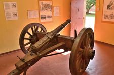 Gun Mounted On A Wagon Chassis