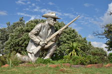 Statue Of Danie Theron