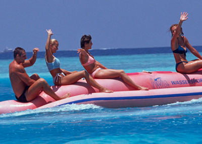 Paradise Island Banana Boat