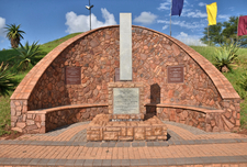 Scale Model Replica Of The Trek Monument That Was Inaugurated On 16 December 1954 In Tanzania Formerly Known As Tanganyika