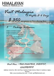 6 Day Malaysia Honeymoon Tour
