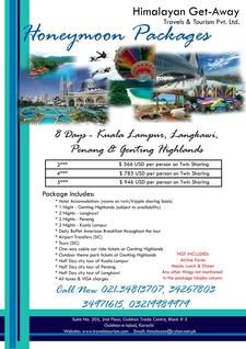 8 Days Kuala Lampur Penang Langkawi Genting