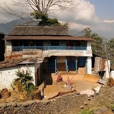 Typical Village Of Nepal