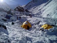 Glaciar Camp Basecamp Factorma Desktop Resolution