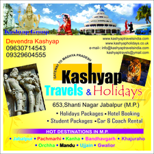 Kashyap Tours Travels Jabalpur