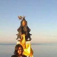 My Selfie In Batu Bolong Temple