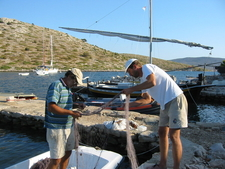 Fishermen In Lavsa Kornati