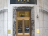 The 59 Wall Street Banking Entrance
