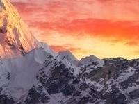 Greatness Of Nature Ama Dablam Peak 6856 M At Sunset Nepal Himalayas 640x426