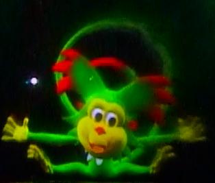 Kiki The  Hyperactive  Monkey Of  Sentosa