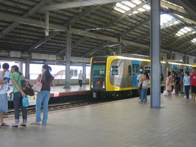 L R T Baclaran  Station