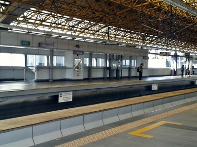 M R T   2  Anonas  Station  Platform  1