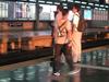 M R T3  Araneta Center Cubao Station Platform  3