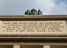 Inscription Above The Museum