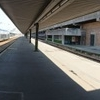 Panoramic View Of The Station Platform