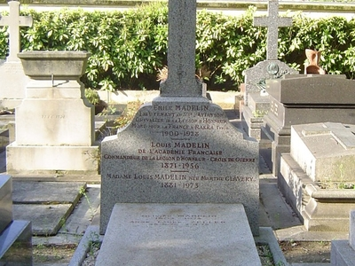 Tomb Of Louis Madelin