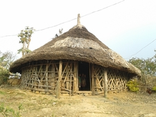 A Naga Traditional House